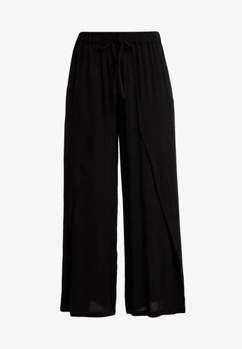 ALLIE PANTS - Trousers - pitch black