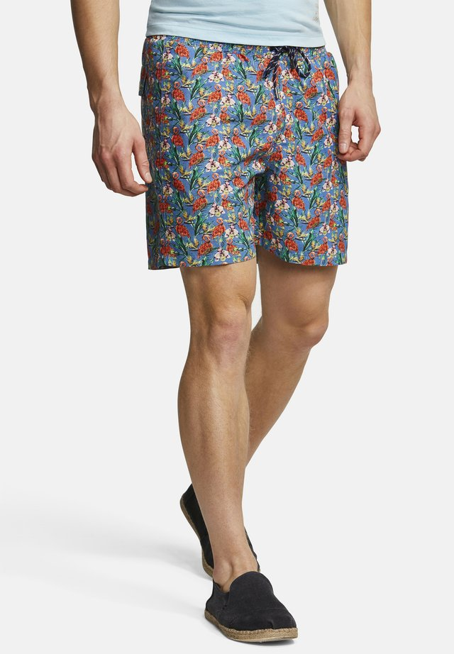 BADESHORTS ANIMAL-PRINT SIMON - Zwemshorts - flamingo