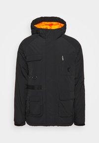 Karl Kani - SIGNATURE UTILITY JACKET - Winter jacket - black - 0