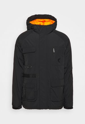SIGNATURE UTILITY JACKET - Winter jacket - black