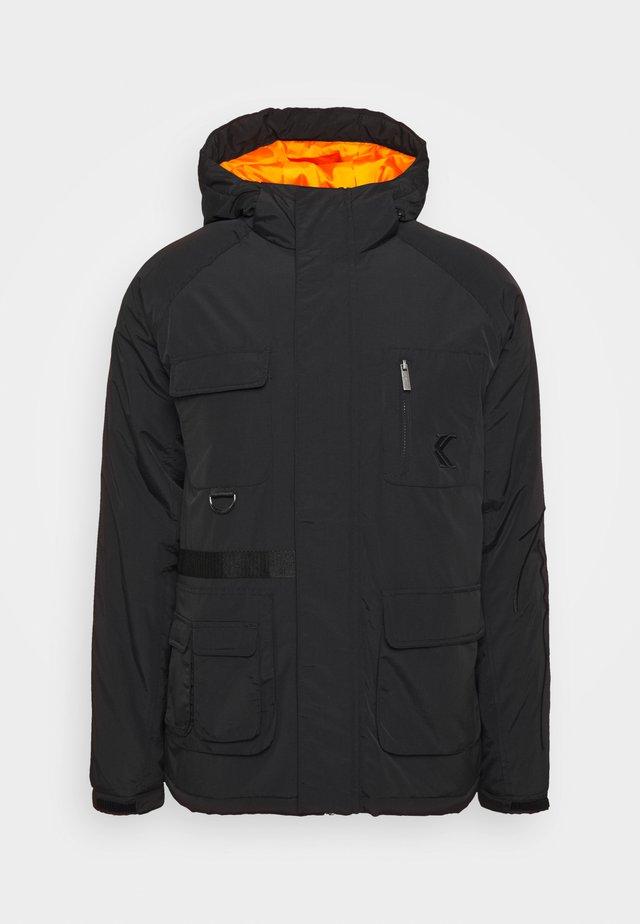 SIGNATURE UTILITY JACKET - Winter jacket - black