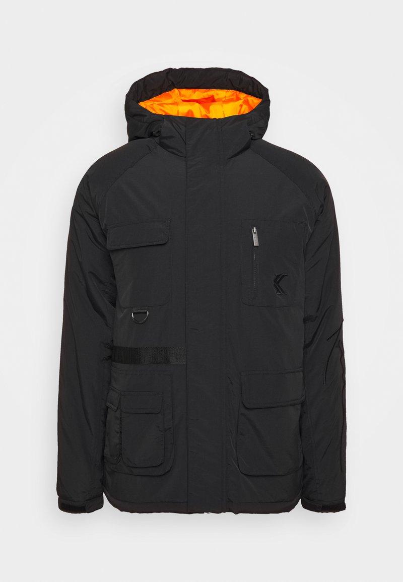 Karl Kani - SIGNATURE UTILITY JACKET - Winter jacket - black