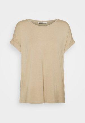ONLMOSTER ONECK - Basic T-shirt - humus