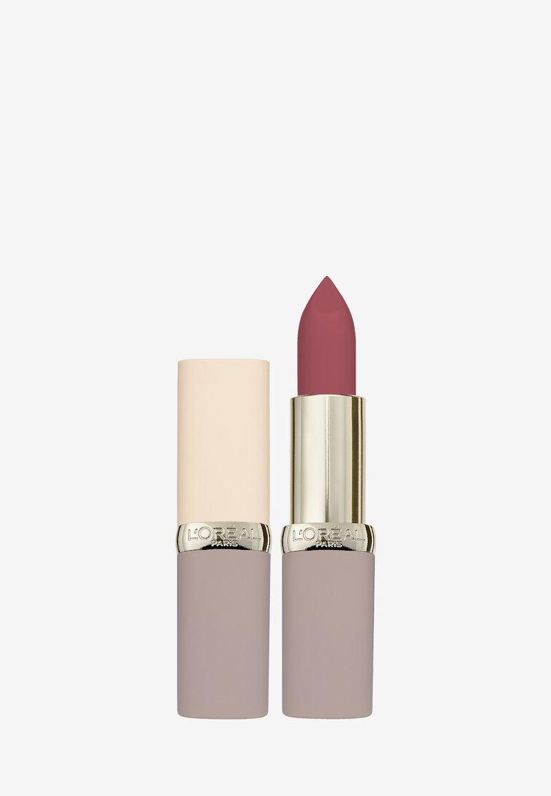 L'Oréal Paris - COLOR RICHE ULTRA MATTE FREE THE NUDES - Rouge à lèvres - 08 no lies
