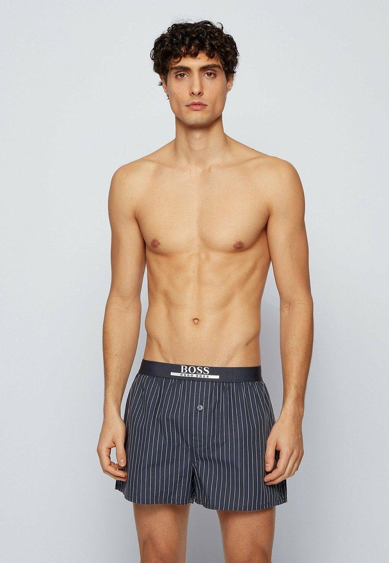BOSS - 2 PACK - Pyjama bottoms - blue