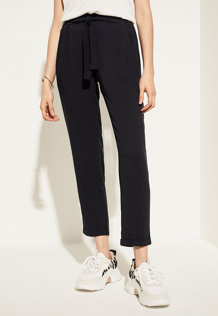 comma casual identity - REGULAR FIT - Trousers - marine