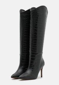 Call it Spring - VEGAN GEORGIAA - High heeled boots - black - 2