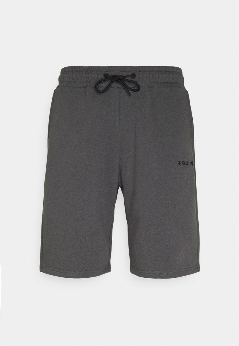 YOURTURN - UNISEX SPECIAL TRIMS - Short - dark grey