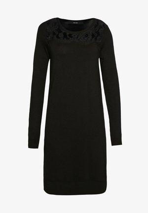 VMLACOLE LACE DRESS - Sukienka dzianinowa - black