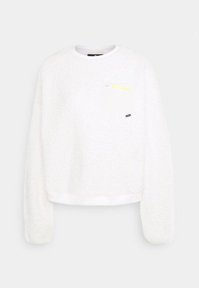 SHERPA CREW - Fleece jumper - white