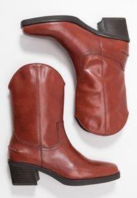 Vagabond - SIMONE - Cowboy/Biker boots - henna - 3