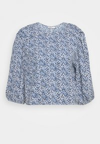 ONLY - ONLSHAKIRA - Long sleeved top - cloud dancer/blue ditsy - 4