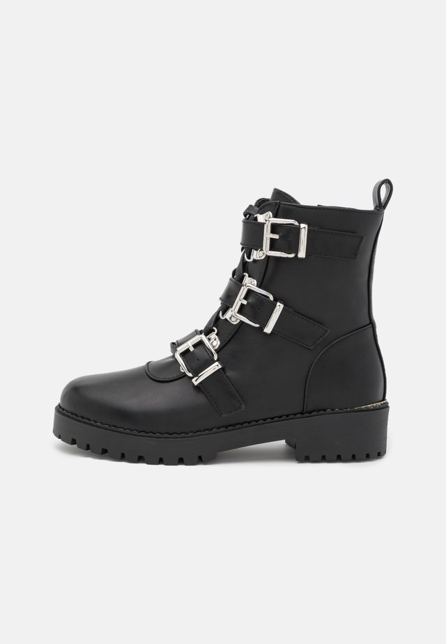 LUCIA BOOTIE - Lace-up ankle boots - black