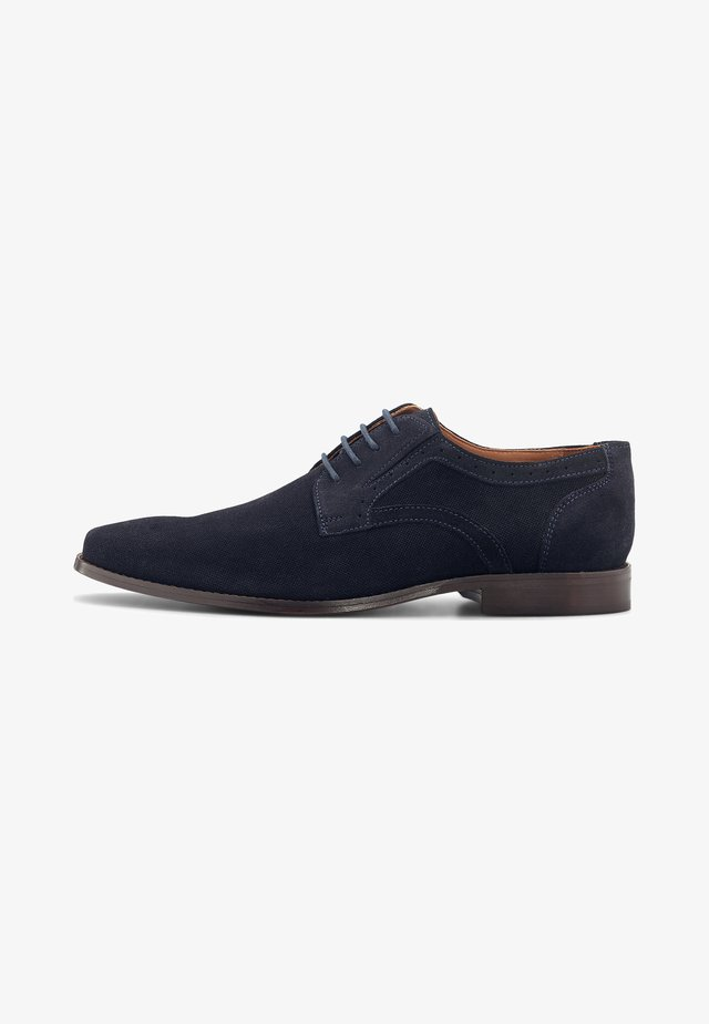 Smart lace-ups - dunkelblau