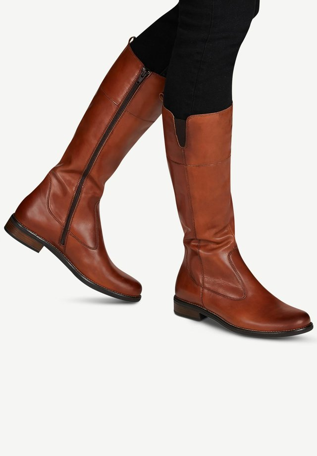Boots - cuoio