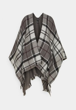 LOMAND TARTAN SERAPE - Cape - grey/juniper