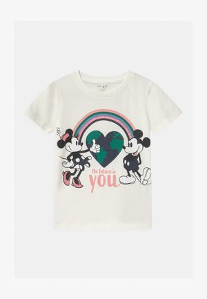 NMFMINNIE NENNE - Print T-shirt - snow white