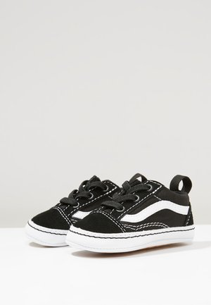 IN OLD SKOOL CRIB - Obuwie do raczkowania  - black/true white