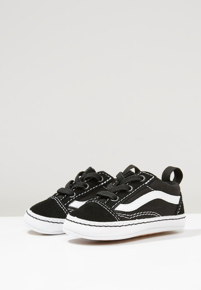 IN OLD SKOOL CRIB - Patucos - black/true white