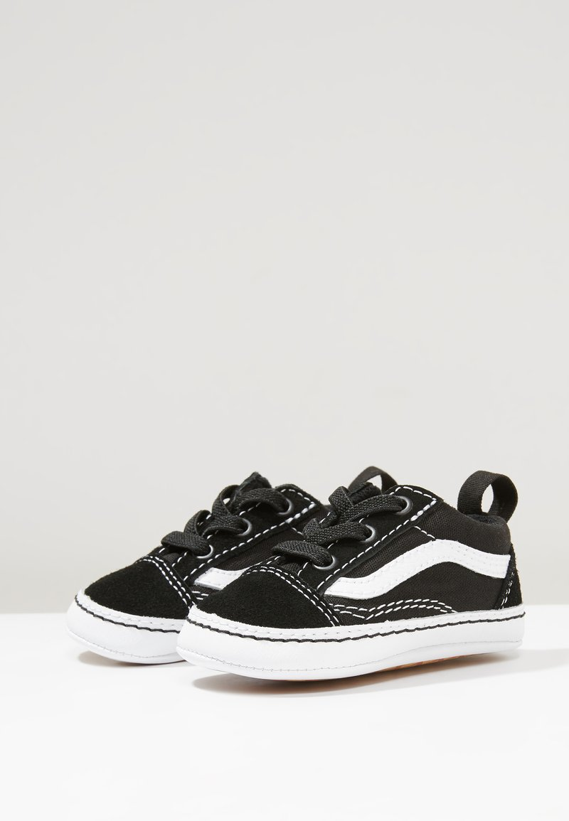 Vans - IN OLD SKOOL CRIB - Obuwie do raczkowania  - black/true white