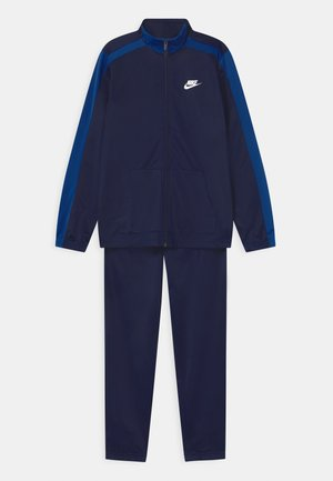 TRACKSUIT UNISEX - Trainingspak - blue void/game royal/white