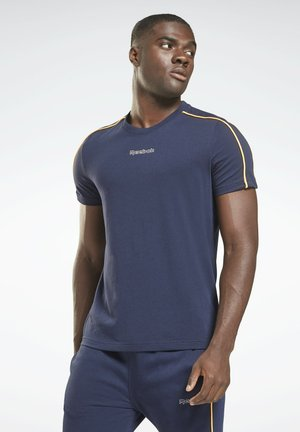 ESSENTIALS PIPING - T-shirts - blue