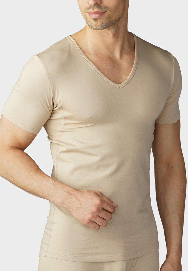 DAS DRUNTERHEMD mit Shape-Effekt - Hemd - light skin