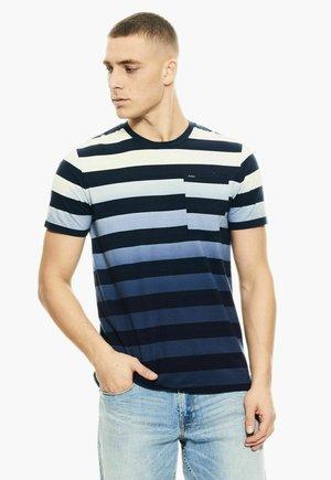 Camiseta estampada - denim blue
