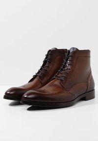 Giorgio 1958 - Šněrovací kotníkové boty - marrone/blu - 2