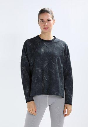 REVERSIBLE CREW - Sweatshirt - black