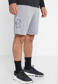Under Armour - TECH GRAPHIC SHORT - Sports shorts - steel/black - 0