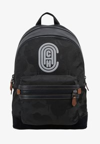 Coach - ACADEMY BACKPACK WITH PATCH - Reppu - black wild beast - 6