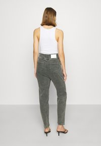 10DAYS - HIGH WAIST  - Relaxed fit jeans - grey - 2
