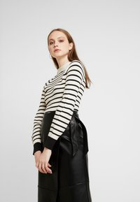 Scotch & Soda - SPECIAL STRIPED WITH SHAPED SLEEVES - Trui - combo - 0