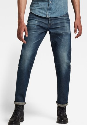 MORRY RELAXED TAPERED SELVEDGE - Relaxed fit jeans - worn in royal navy