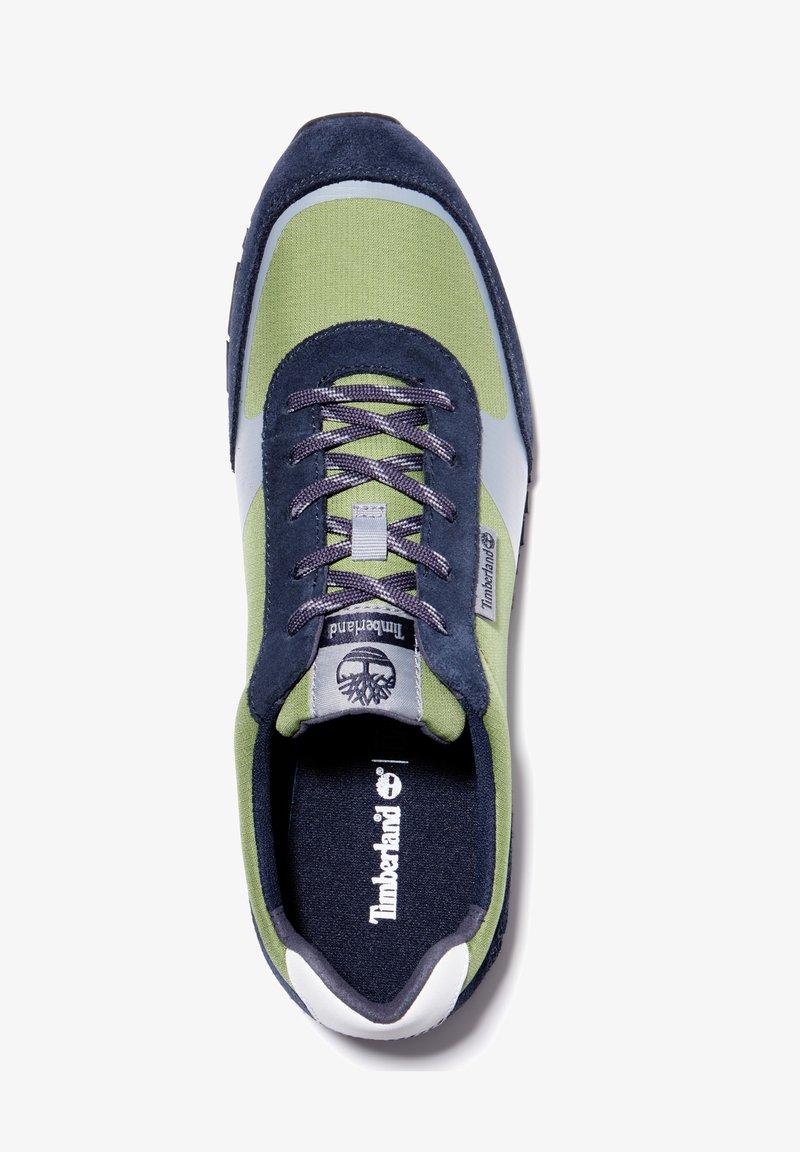 Timberland - LUFKIN  - Sneakersy niskie - md green mesh wblu
