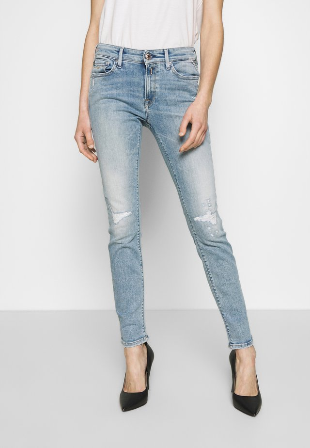 NEW LUZ - Jeans Skinny - light blue