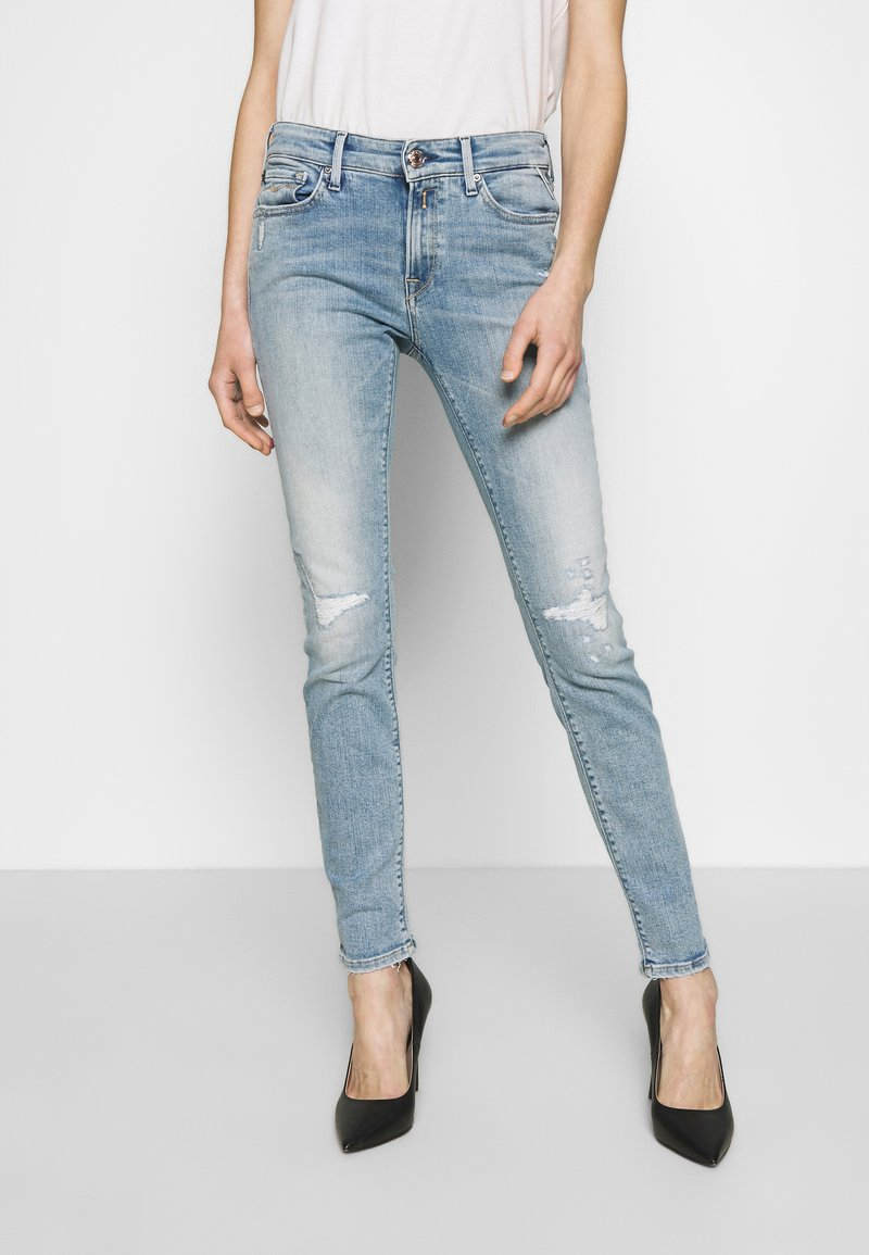 Replay - NEW LUZ - Jeans Skinny Fit - light blue
