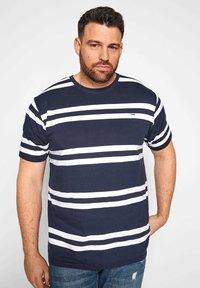 BadRhino - Print T-shirt - navy - 0