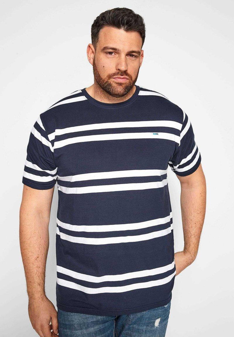 BadRhino - Print T-shirt - navy