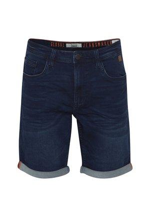 TWISTER FIT - Denim shorts - denim dark blue
