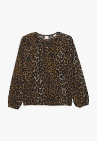 Scotch & Soda - IN BOXY FIT WITH ALL OVER PRINT - Blouse - cognac - 0
