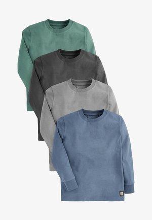 4 PACK  - Langærmede T-shirts - blue