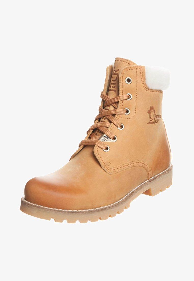 Panama Jack - IGLOO - Lace-up ankle boots - cognac
