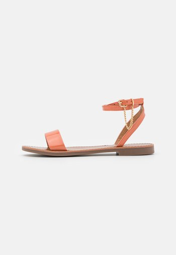 ONLMELLY CHAIN  - Sandalias - pink