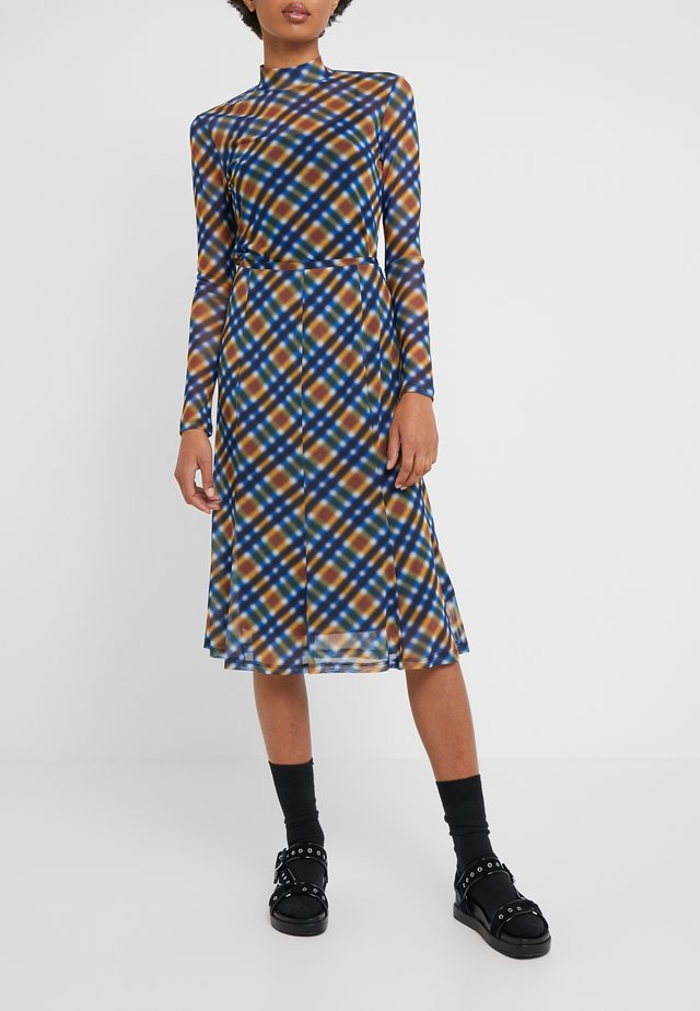 SKIRT - A-lijn rok - french blue/multi