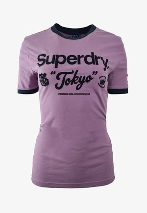 AMERICAN-CLASSIC  - Print T-shirt - dazed lilac