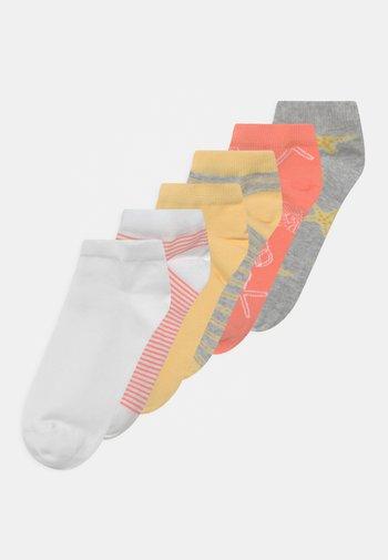 NKFFAIRY 6 PACK - Socks - light grey melange