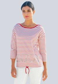 Alba Moda - Long sleeved top - rot weiß - 0