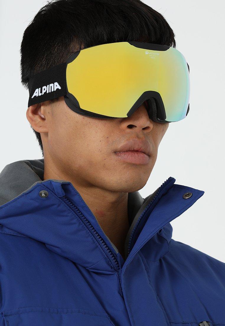 Alpina - PHEOS QMM - Gogle narciarskie - black matt